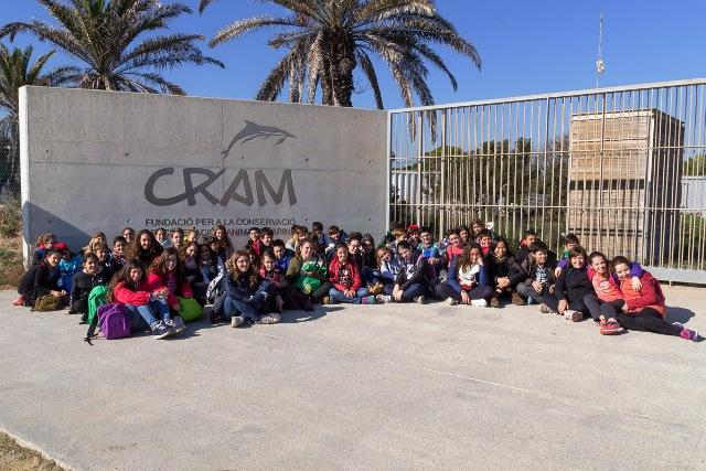 Visita al CRAM – secundària