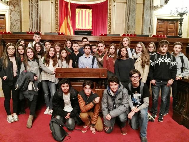 Sortida a la Pedrera i el Parlament – secundària
