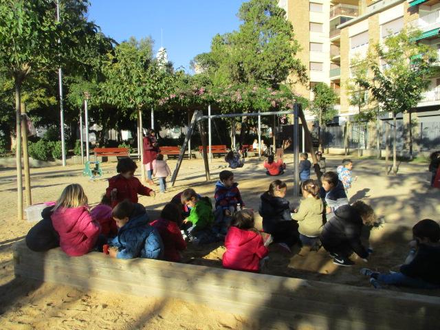 Experimentem i juguem al Parc de Sant Jordi!
