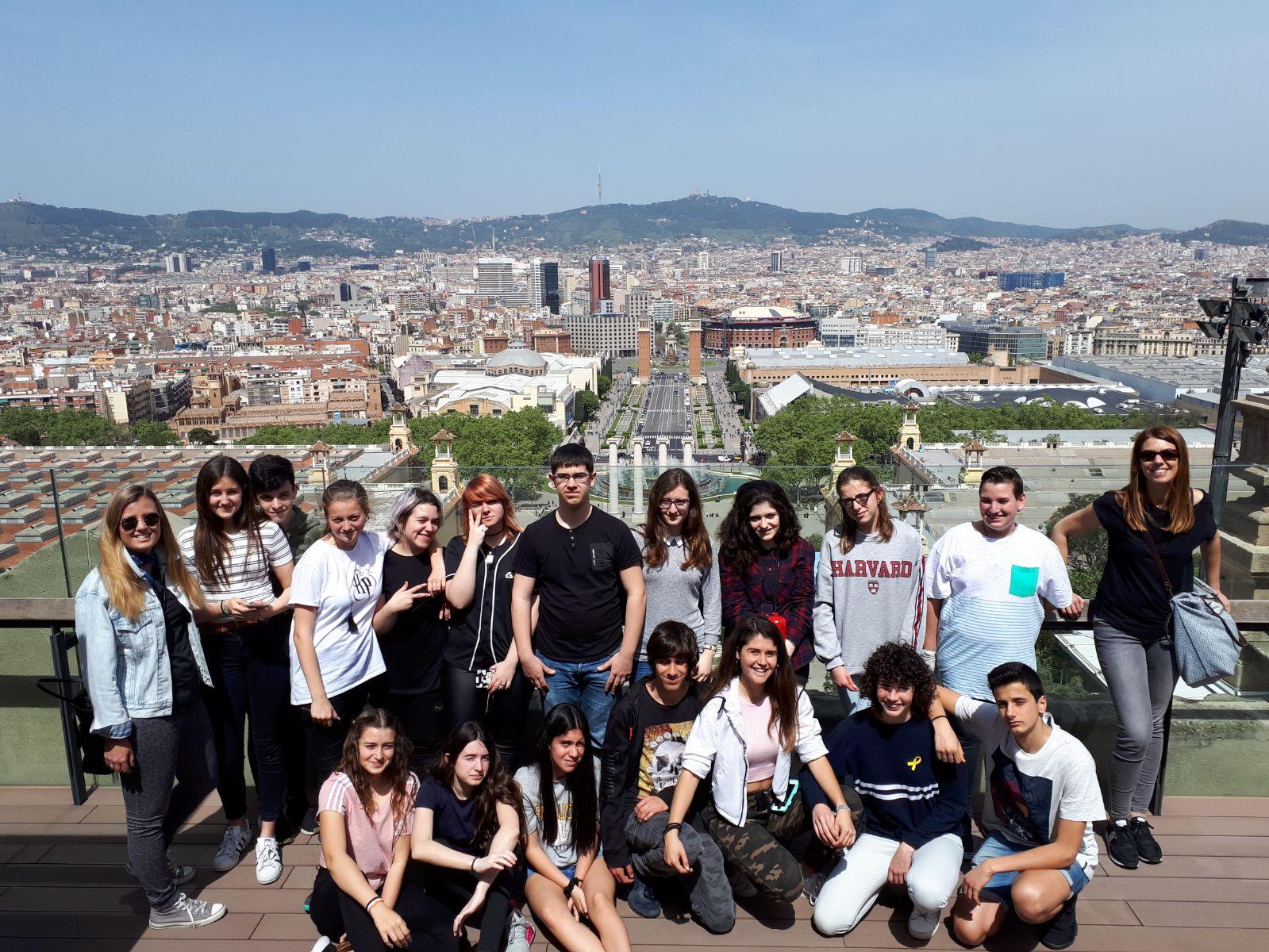 Visita al Museu Nacional d'Art de Catalunya
