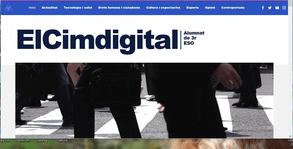 Activitat diari digital a 3r d'ESO