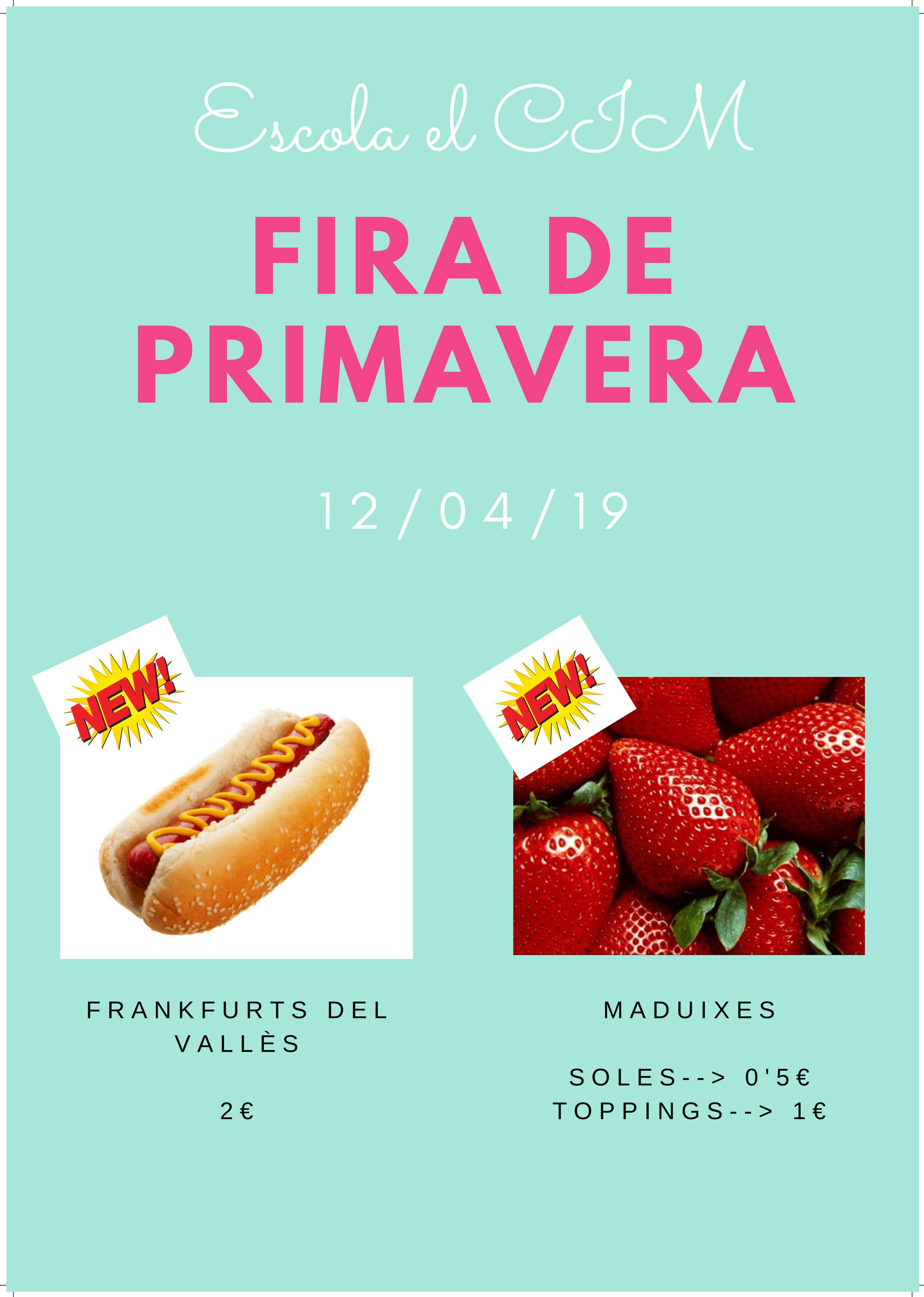 FIRA DE PRIMAVERA